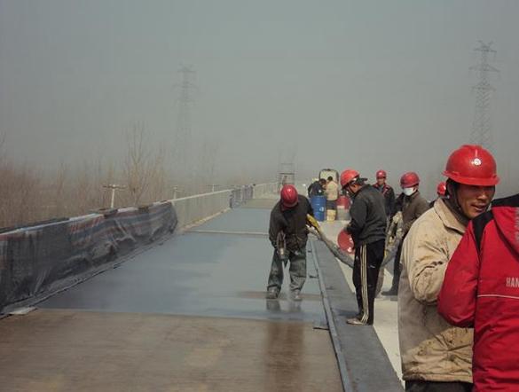 桥梁防水施工